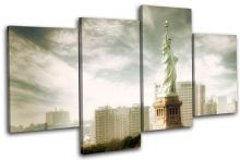 NYC Statue of Liberty Landmarks - 13-1805(00B)-MP04-LO